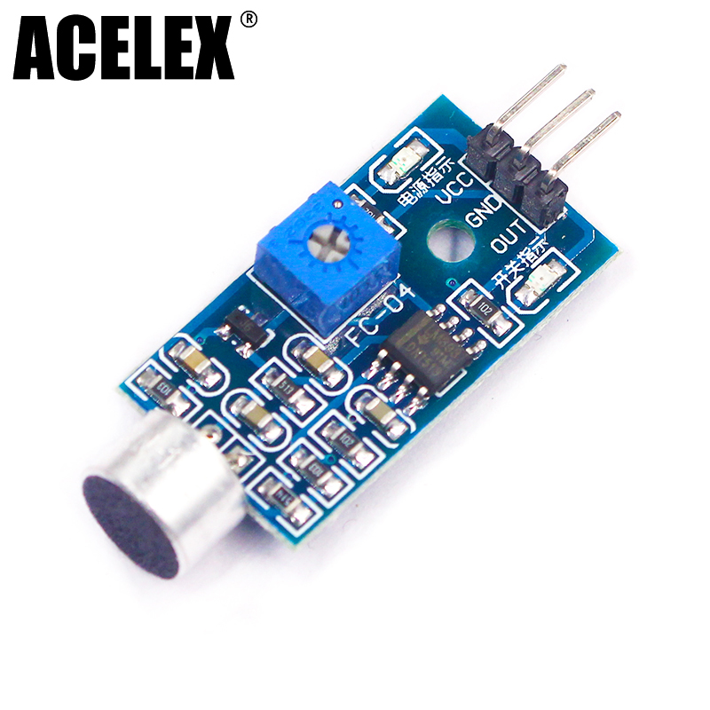 3pin Voice Sound Detection Sensor Module Intelligent Smart Robot Helicopter Airplane Boart Car for arduino Diy Kit3pin Voice Sound Detection Sensor Module Intelligent Smart Robot Helicopter Airplane Boart Car for arduino Diy Kit
