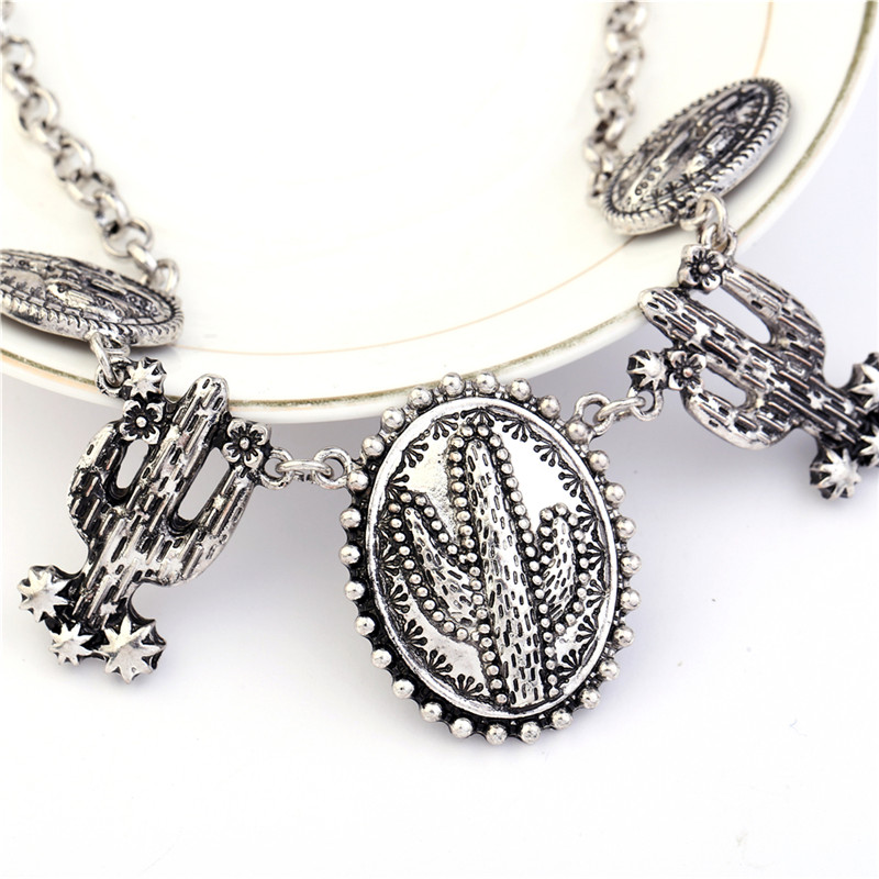 Винтидж обшивка тибетски сребърен - Модни бижута - Снимка 5