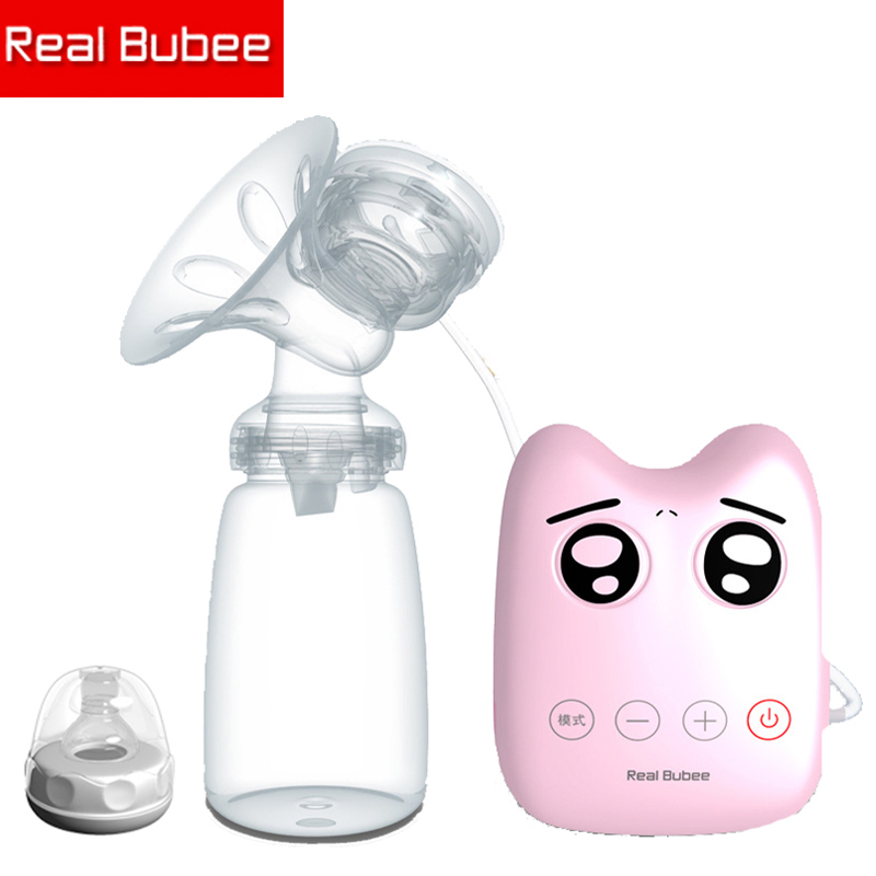 New 2017 baby product White/pink electric breast pump DIY Intelligent USB electric breast pumps Breast feeding breast pump GK