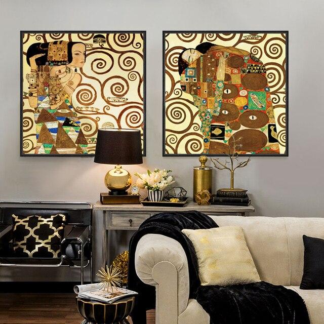 Cuadros de decoracin panel de cinco caballos corriendo - Lienzos decorativos ...