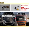 Back Up Câmera Reversa Para Mercedes Benz ML W164 ML350 ML450 ML300 ML250-Rear View Camera/RCA & Tela Original Compatível