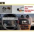 Copia de seguridad de Reversa de La Cámara Para Mercedes Benz ML W164 ML350 ML450 ML300 ML250-Cámara de Visión Trasera/RCA y Pantalla Original Compatible