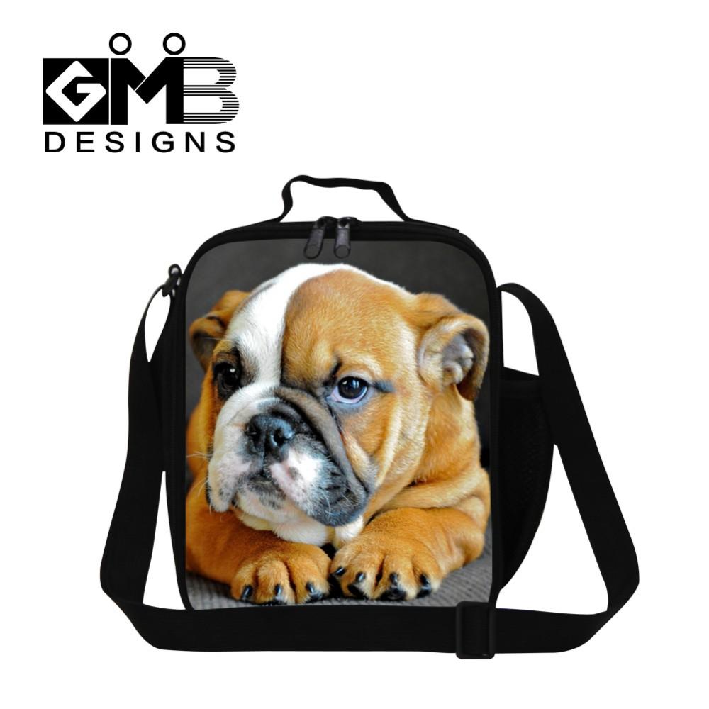 bull dog lunch bag