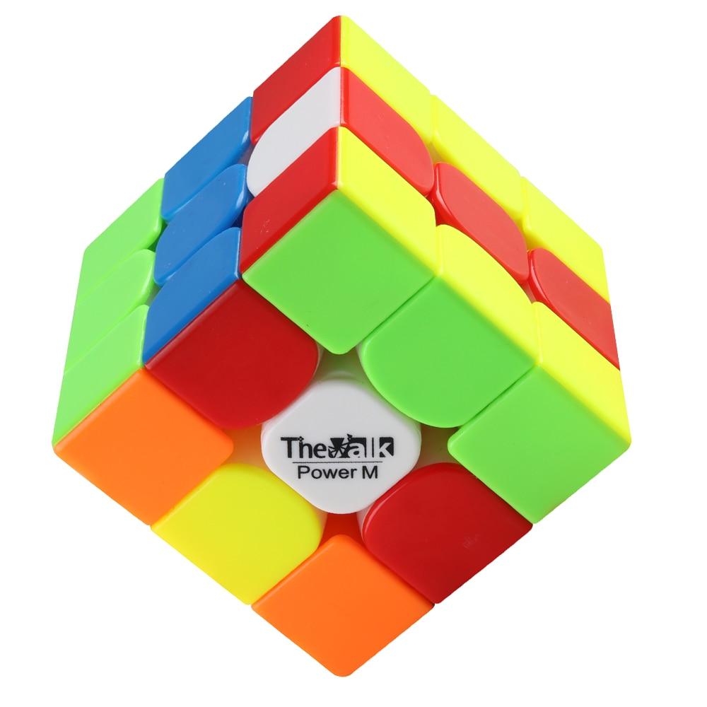 D-FantiX Qiyi Mongfangge Valk 3 Puissance M Magnétique 56mm Vitesse Cube 3x3x3 Professionnel WCA Jeu cube magique Jouets Cadeau - 6