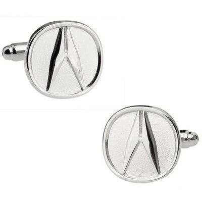 C-MAN Luxury shirt Silver Car logo cufflink for mens Brand cuff buttons cuff links High Quality abotoaduras Jewelry