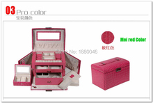 24*16*16.5CM High-end jewelry box  European princess jewelry box jewelry storage box cosmetic box birthday gift to send gifts