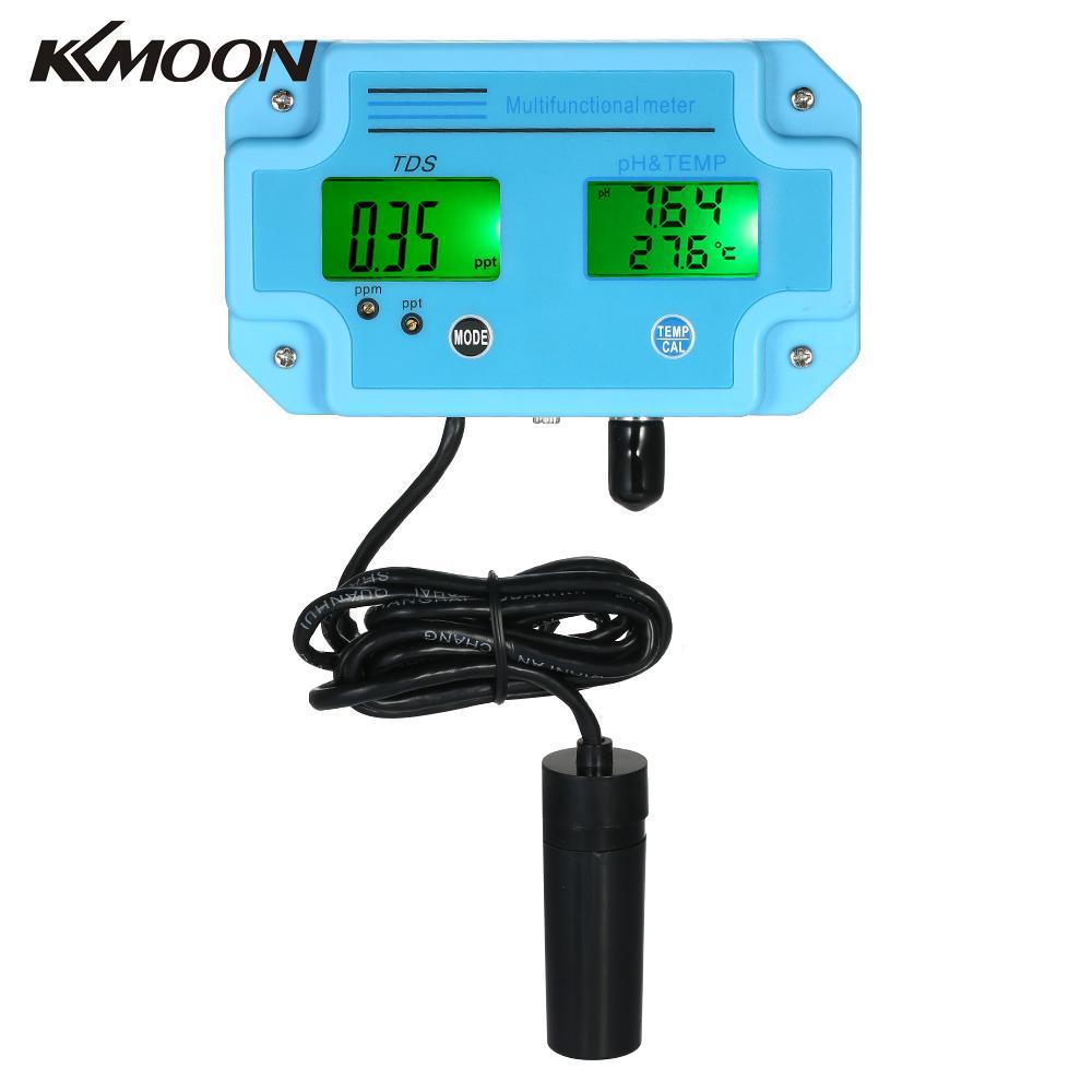 Professional 3 in 1 pH TDS TEMP Meter Water Detector Digital LCD Multiparameter Water Quality Tester