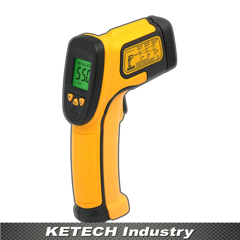 AS550 Industrial Non Contact Digtial Infrared Thermometer tasi 8606 infrared thermometer 32 380 degrees infrared thermometer non contact thermometer industrial and household