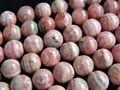 Free Shipping (18 pieces/set) low price natural rhodochrosite  10mm smooth round  loose beads stone wholesale