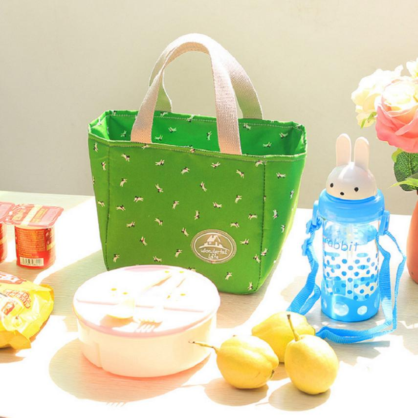 Portable Insulated Thermal Cooler Lunch Box Carry Tote Picnic Case Storage Bag Lunch Bag Storage Package # ZC