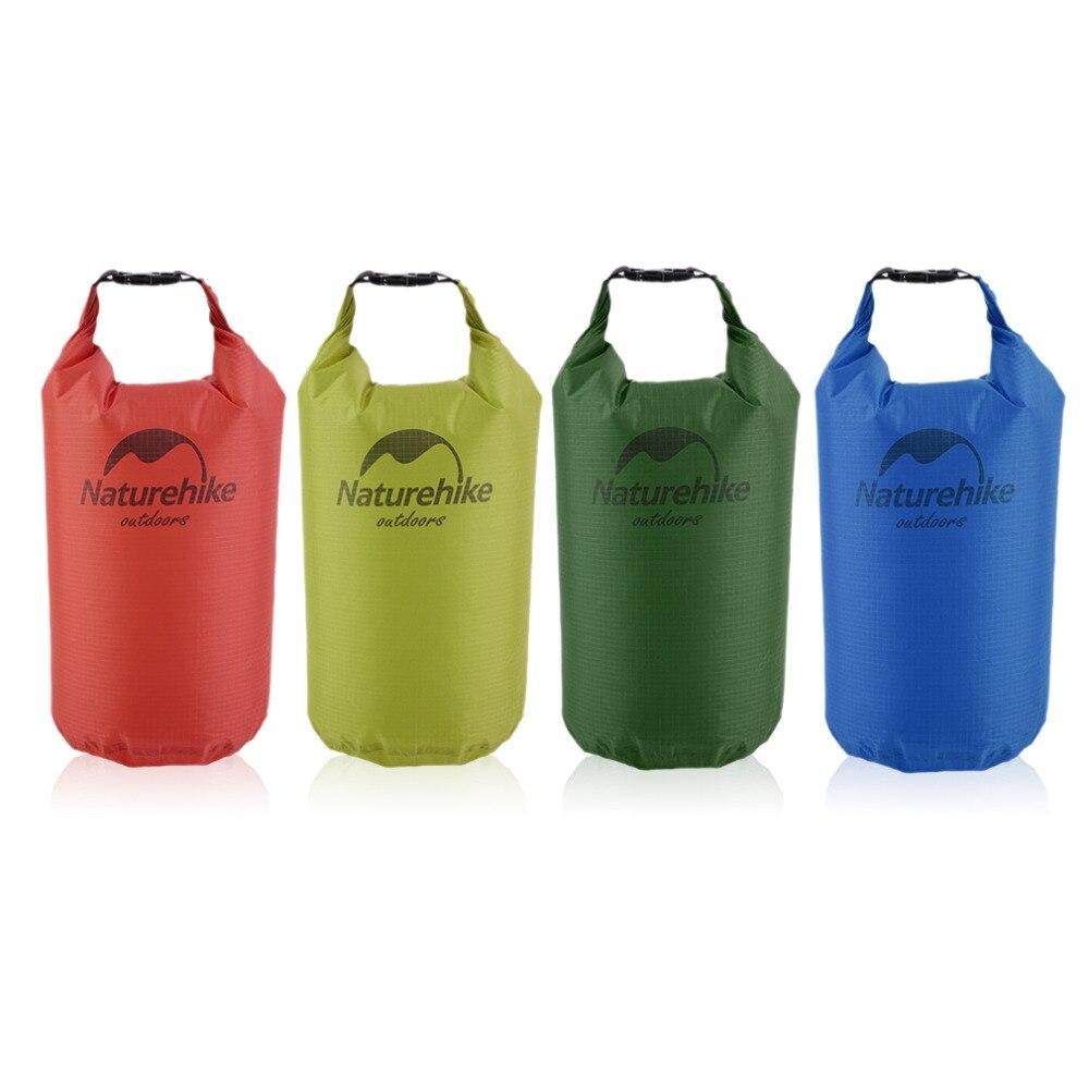 Naturehike 5/15/20L Wasserdichte Tasche Lagerung Trocken Tasche für Kanu Kajak Rafting Sport Outdoor Camping Travel Kit ausrüstung