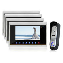 Homefong Video Doorbell font b Camera b font Intercom Monitor 7 inch Touch Screen 1V4 SD