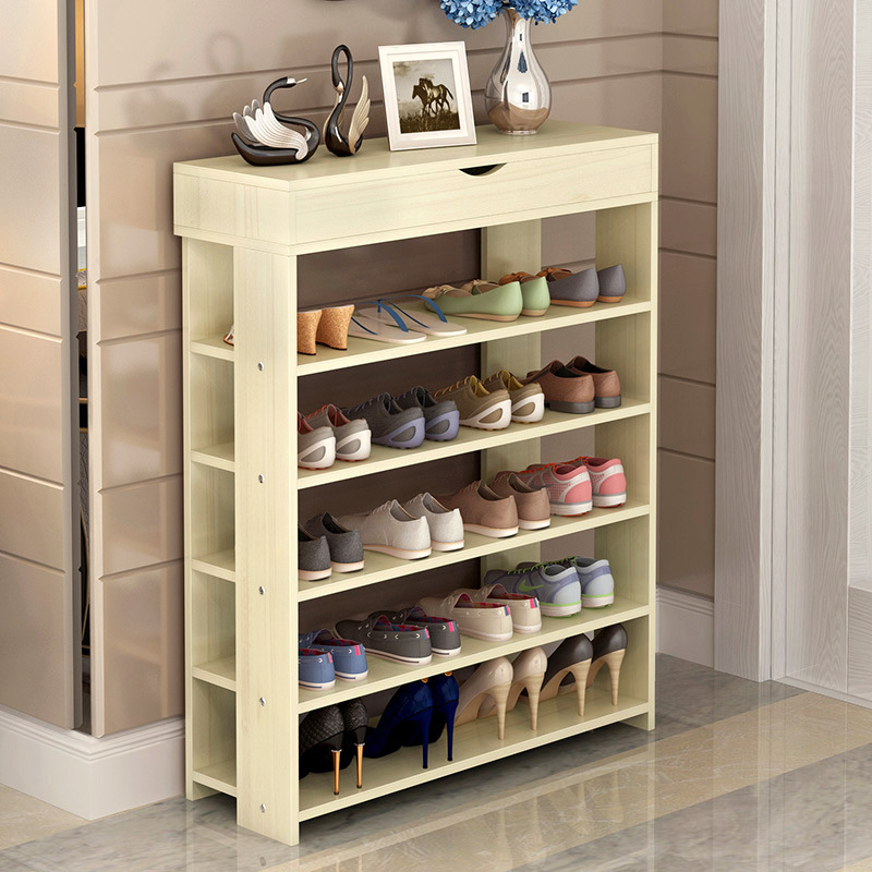 Shoe Rack Easy Assembled Woody Multiple layers Shoes Shelf Storage with drawer Organizer Stand Holder Keep Room Neat 26 pairs over door hanging stand shoe rack shelf storage organiser pocket holder creamy white