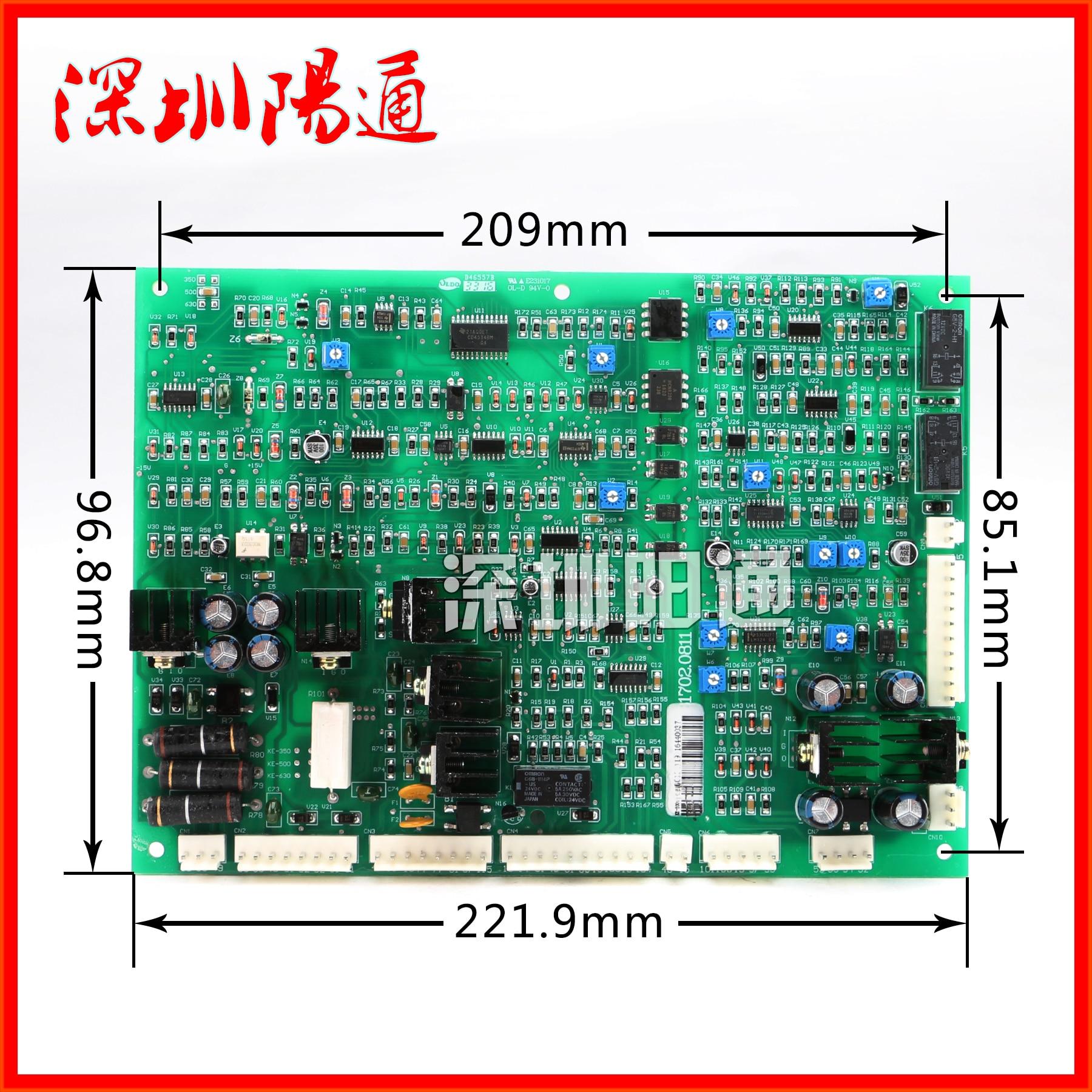 KE-350/500 Управление доска оригинальный новый завод два гарантировано сварочный аппарат материнская плата