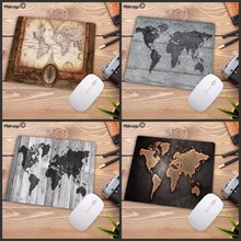 Mairuige New World Map Style Mouse Pad Large Pad for Laptop Mouse Notbo
