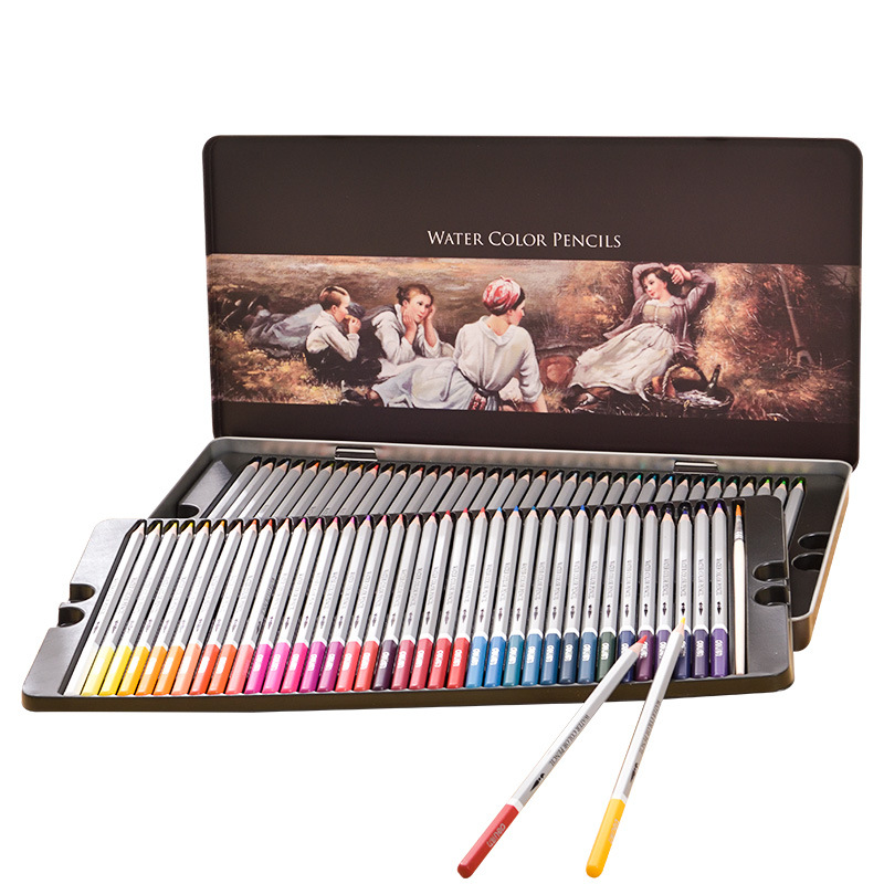 72Colors Safe Non-toxic Indonesia Lead Water Soluble Colored Pencil Watercolor Pencil Set For Writing Drawing Art Supplies72Colors Safe Non-toxic Indonesia Lead Water Soluble Colored Pencil Watercolor Pencil Set For Writing Drawing Art Supplies
