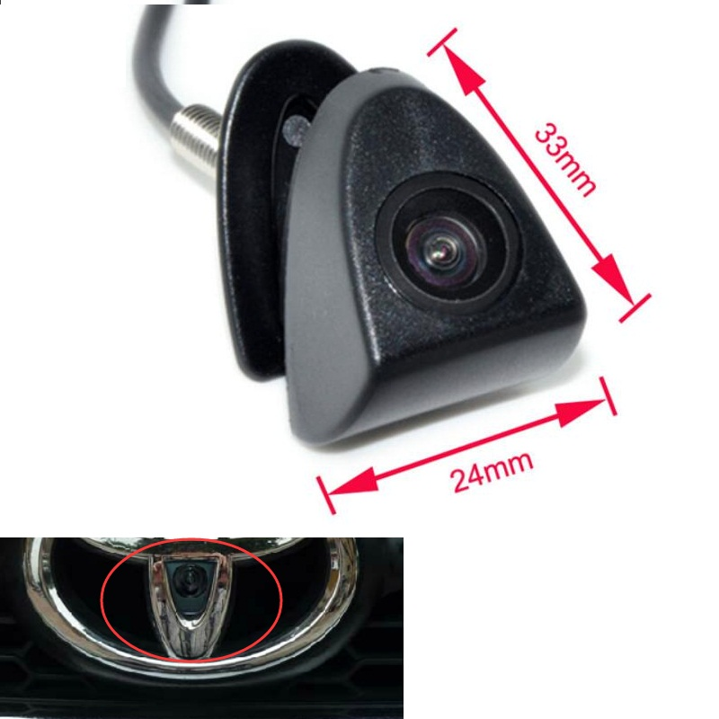 FRONT PARKING CAMERA REARVIEW CAR CAMERAS FIT FOR TOYOTA CAR diff drop kit for hilux
