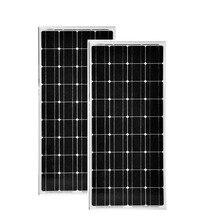 цена на Solar Panel 12v 100w 2 Pcs/Lot Panneaux Solaire Monocrystalline Solar Battery Charger Caravan Camping Car Battery Charger