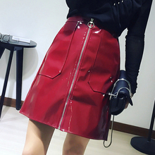Patent leather skirt online shopping-the world largest patent ...