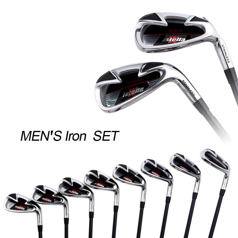 buy instock 8 pieces set new 7 golf irons set man golf. Black Bedroom Furniture Sets. Home Design Ideas