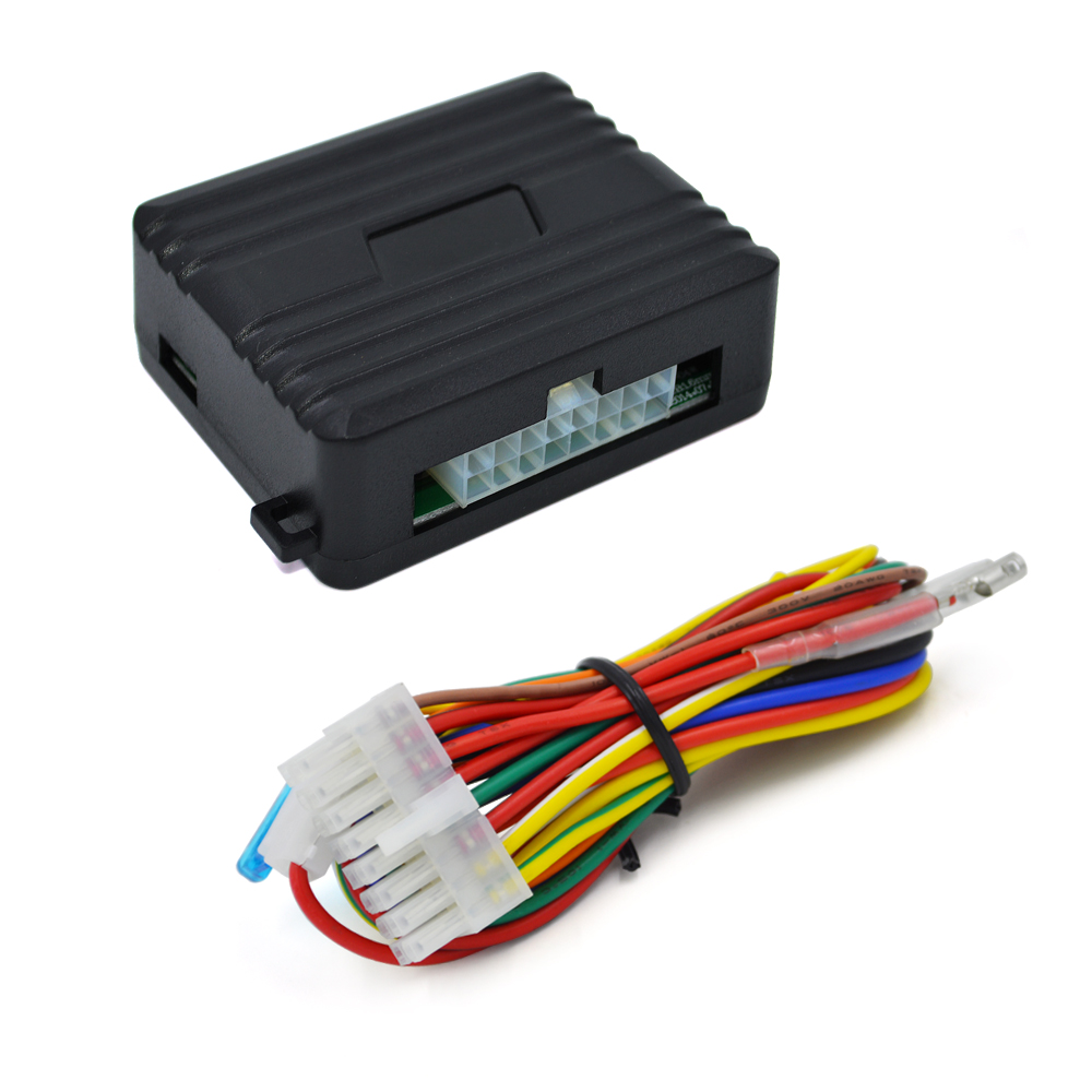 Auto four doors remotely close windows universal car power for Power window motors for cars