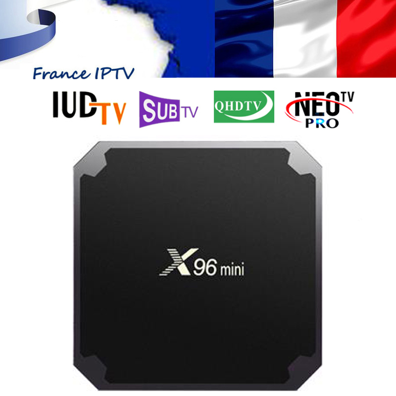 X96 mini Android 7 1 France IP TV Box Quad Core QHDTV NEOTV PRO SUBTV IUDTV
