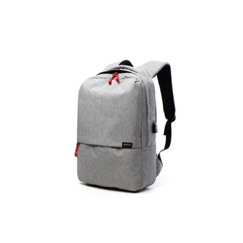 External USB Notebook Backpack Denim Design for Women 15.6 Waterproof Laptop Backpack Men School Computer Bag