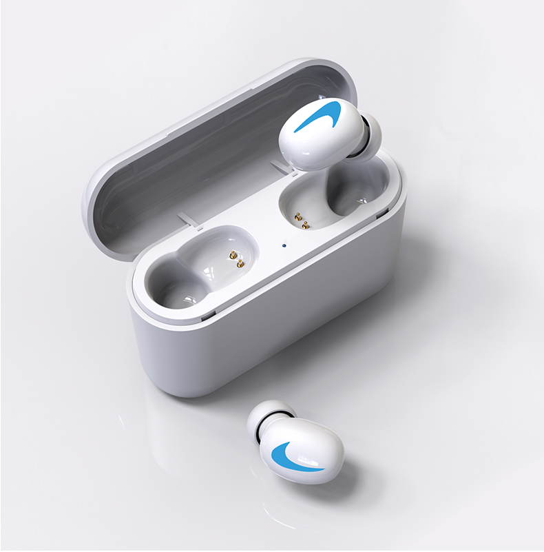 HBQ Wireless Bluetooth Earphones 5.0 With Mic For Hands free Call Charging Box 14