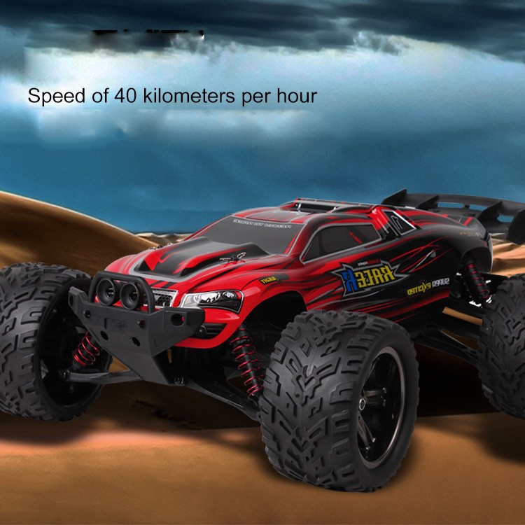 Big RC Car 9116 1/12 2WD Brushed High Speed RC Monster Truck RTR 2.4GHz Good Children's toy high speed big rc car 9116 1 12 2wd brushed rc monster truck rtr 2 4ghz good children toy