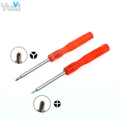YuXi 1 set Cross + Tri-wing Triangle Screwdriver for Nintend DS Lite Wii GBA SP For 3DS XL Repair Tool