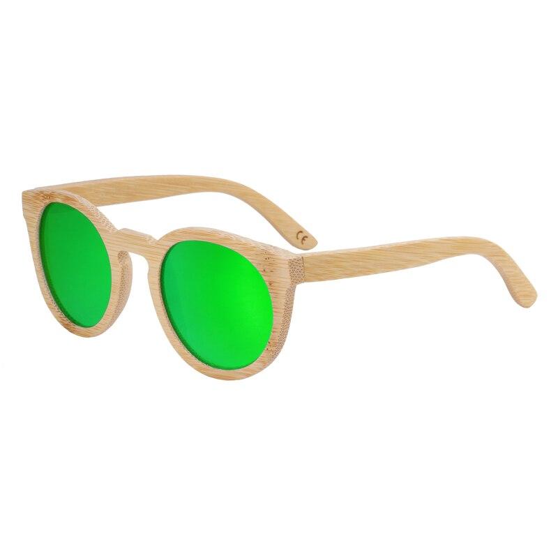 Berwer Kayu Kacamata Wanita Bulat Bambu Kacamata Hitam Bingkai Kayu Antik  Buatan Tangan Berjemur Kacamata untuk 551395c436