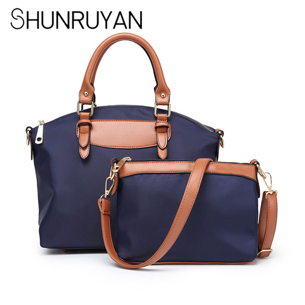 SHUNRUYAN Fashion Women 2 pcs/set Handbags Fashion Women Bag Top-Handle Bags Luxury Designer Messenger Bags Handbag Set  SHUNRUYAN Fashion Women 2 pcs/set Handbags Fashion Women Bag Top-Handle Bags Luxury Designer Messenger Bags Handbag Set