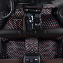 car floor mat for Hyundai Elantra Azera Mistra Coupe LAVIDA IX25 IX35 Genesis Santa Fe