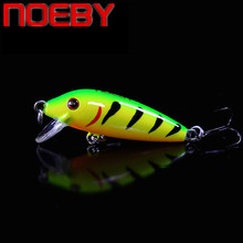 NOEBY NBL9431 Minnow Fishing Lure 50mm 3.3g Plastic Wobbler Hard Bait Iscas Artificiais Pesca Trout Pike Topwater