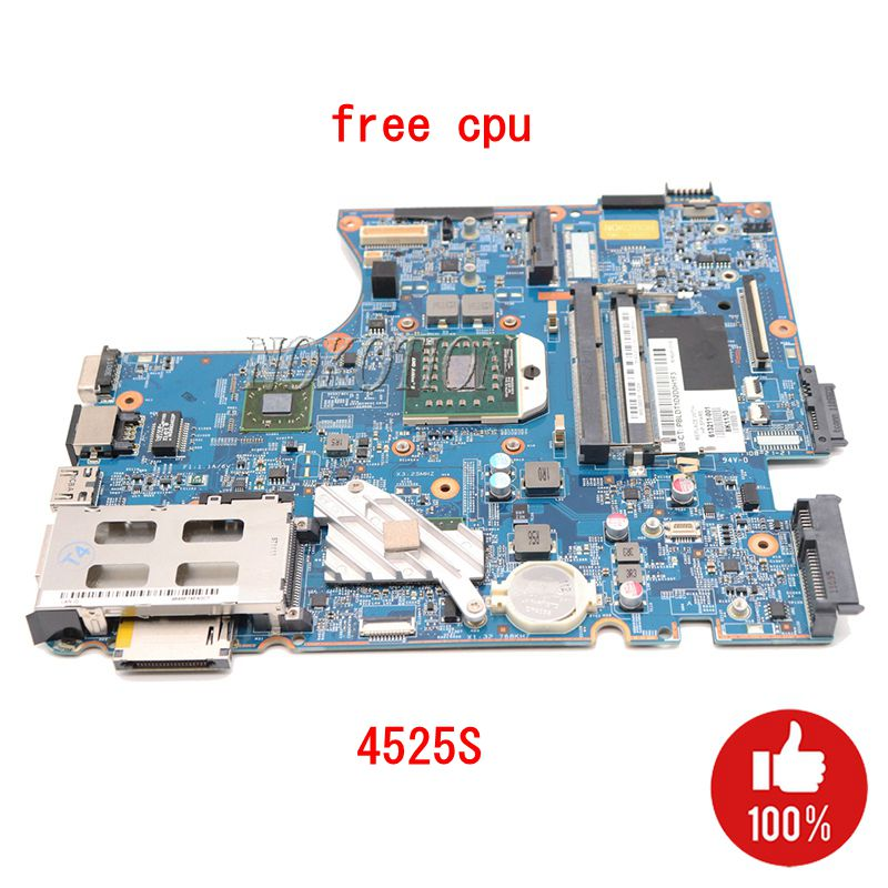 NOKOTION 613213-001 613211-001 Laptop Motherbaord For Hp Probook 4525S Socket S1 48.4GJ02.011 Main Board Free CPU Full Tested