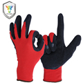 OZERO Work Gloves Stretchy Security Protection Wear Safety Workers Welding For Farming Farm Garden Gloves For Men & Women 1107