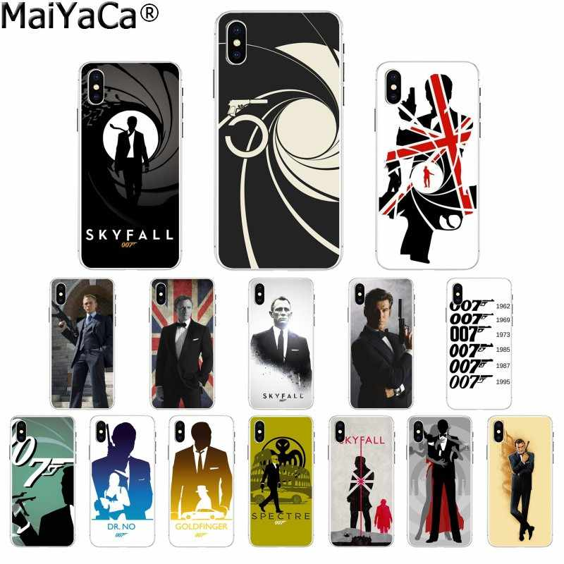 Maiyaca 007 Spectre James Bond Skyfall Transparent Tpu Soft Phone Cover For Apple Iphone 8 7 6 6s Plus X Xs Max 5 5s Se Xr