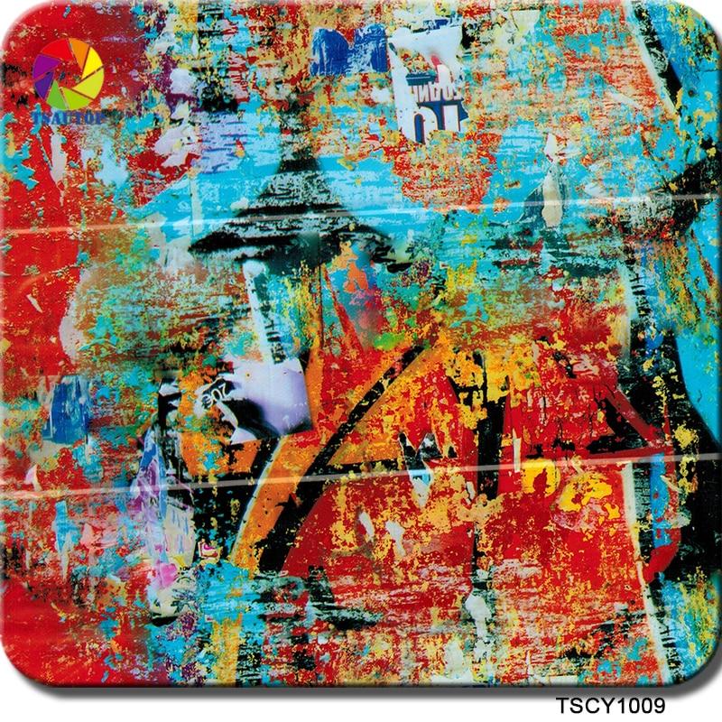 Clever Tsautop Größe 0,5 Mt X 20 Mt Graffiti Wassertransferdruck Kit Wasser Transfer Printing Film Hydrographie Film Ts1009 Motorrad-zubehör & Teile