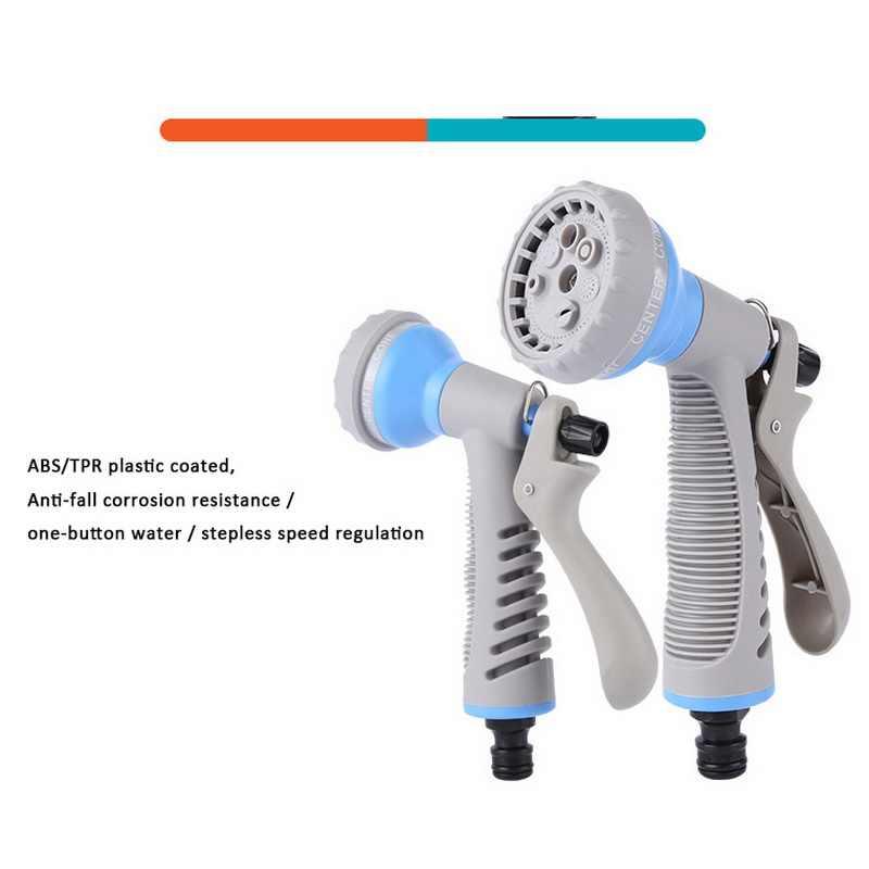 Tuin Hoge Druk Water Pistool Slang Nozzle Sproeier Watering Slang Sproeikop Voor Watering Planten Schoonmaken Auto Voor Thuis
