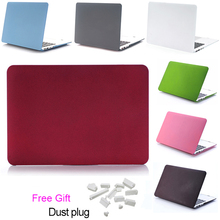 Quicksand plastic laptop Case for Macbook Air 11 13 inch Pro 13 Retina 13 Laptop model A1706 A1707 A1708 Protective Hard Case