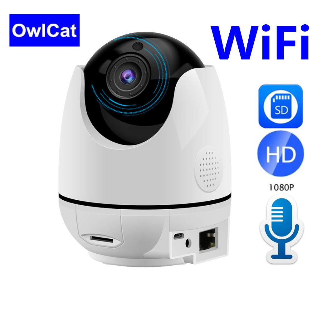 HD 1080P Wireless IP Camera Intelligent Auto Tracking Security Surveillance CCTV Network Wifi Camera Two Way Audio Talk SD cardHD 1080P Wireless IP Camera Intelligent Auto Tracking Security Surveillance CCTV Network Wifi Camera Two Way Audio Talk SD card