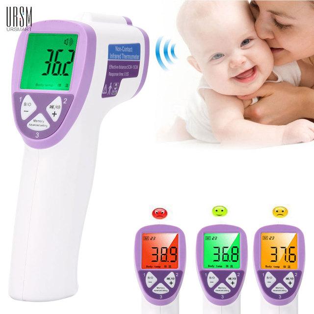 Adulto/Bebé Termómetro Infrarrojo Precisa Termometro Termómetro Infantil LCD Retroiluminación de $ number colores Estándar Médico de Diagnóstico-herramienta