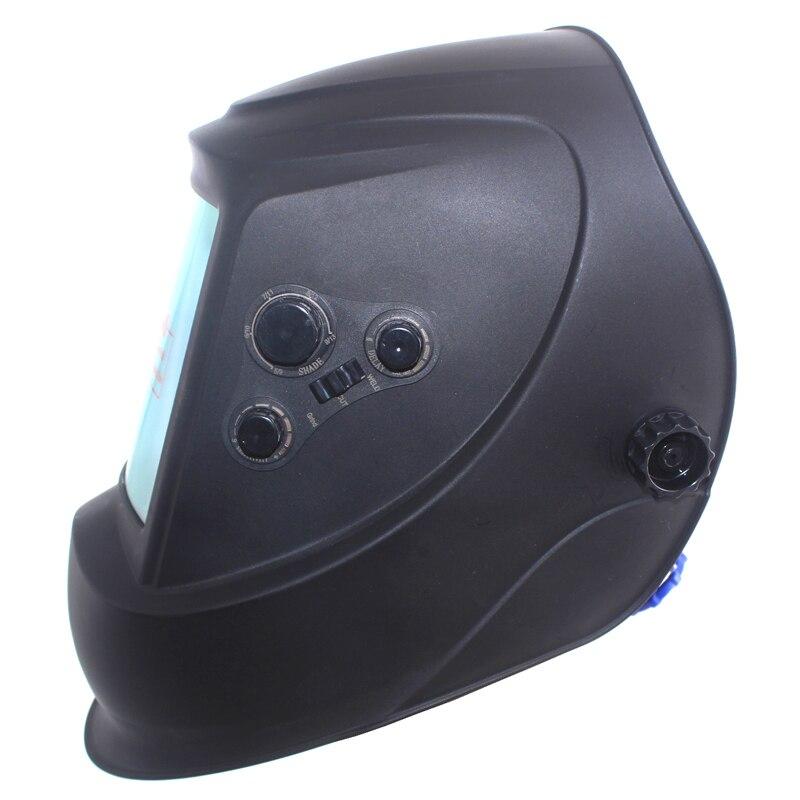 Duże okno 4 czujniki regulacja zewnętrzna Din 5-Din 13 automatyczna maska do spawania słonecznego