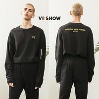 Mens Hoodies Fashion New Hip Hop Streetwear VIISHOW Brand Cotton O Neck Sweatshirts Men Spring Trend