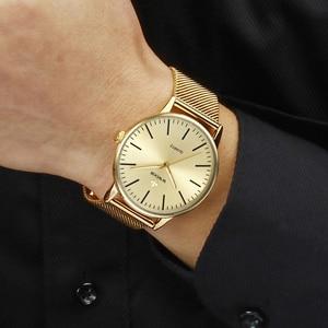 Image 5 - 2019 WWOOR Relogio Masculino หรูหราเต็มรูปแบบสแตนเลสชายนาฬิกาผู้ชายนาฬิกาข้อมือ Zegarki Meskie