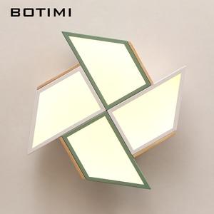 Image 4 - BOTIMI 220V LED Ceiling Lights In Windmill Shape For Living Room Lamparas de techo Bedroom Boys Room Ceiling lamp Rooms Luminare