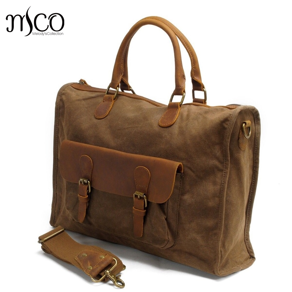 British Style Oil Wax Canvas Men Business Laptop Bag Vintage Leisure Handbag Tote Leather Male Shoulder Messenger Bags Military vintage crossbody bag military canvas shoulder bags men messenger bag men casual handbag tote business briefcase for computer