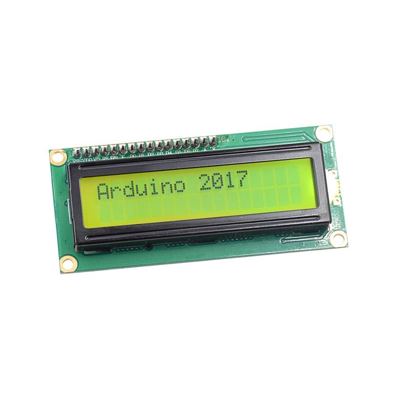 20PCS IIC I2C LCD1602 1602 module Yellow screen 16x2 Character LCD Display Module HD44780 Controller