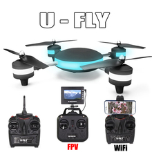 New HUAJUN W606-3 U-FLY 4CH 2.4G 3D Roll Quadcopter LED Plane Model Toy can with 5.8G FPV RC Quadcopter vs MJX X906T JJRC H11D