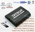 Yatour Bluetooth Hands-free Do Telefone Ligue Para Adaptador para Carro (YT-BTA) para Toyota Avalon Scion Lexus LS460 6 + 6 plugue 2003-2013 Frete grátis
